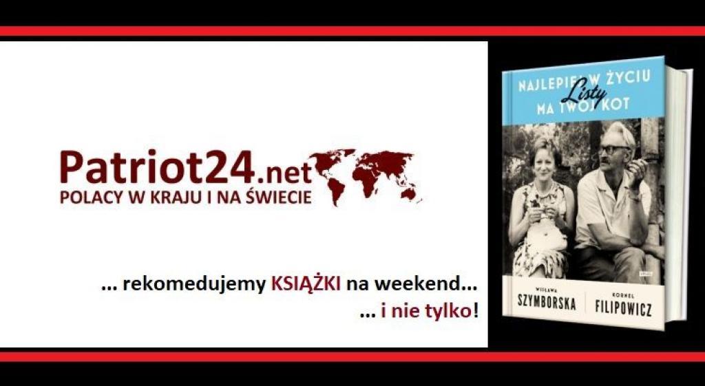 Patriot24 Czyta Uczucia Listy Koty I Książki O Książkach