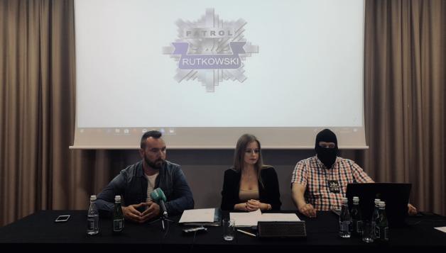 Konferencja prasowa Biura Rutkowski w Gdańsku w sprawie tajemniczo zaginionego Piotr Runowicza, a także przywłaszczenia pieniędzy przez jedną z pomorskich firm.